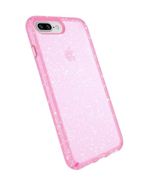 Speck iPhone 8/7+ Presidio Gold Glitter / Pink