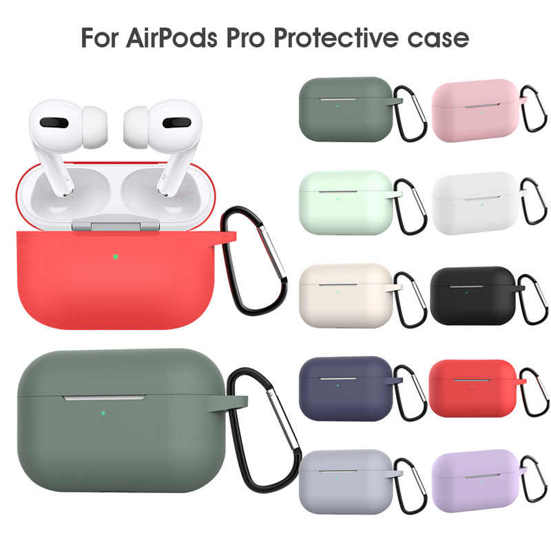 Silicon Case for Airpods Pro - White