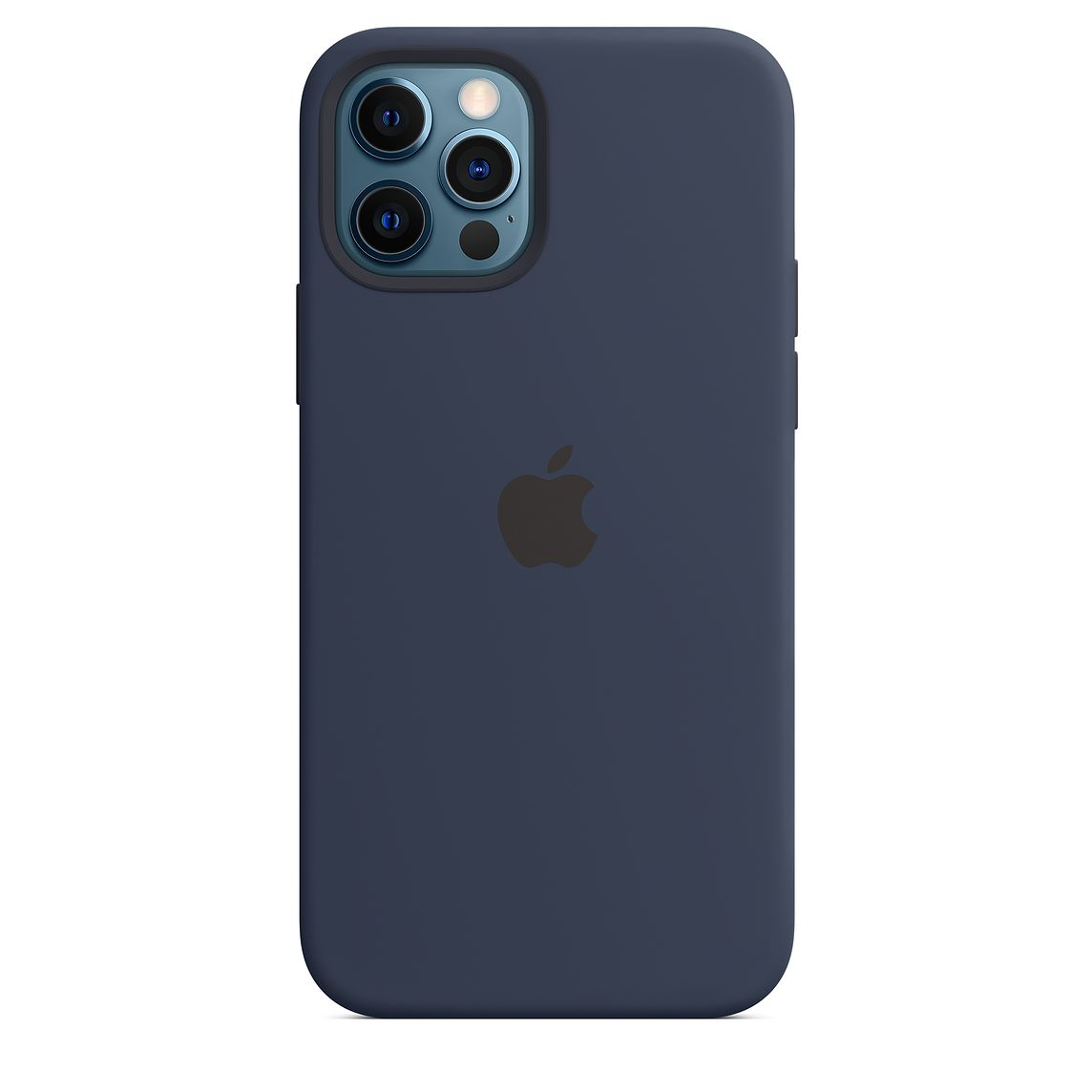 Apple iPhone 12|12 Pro Silicone Case - Deep Navy