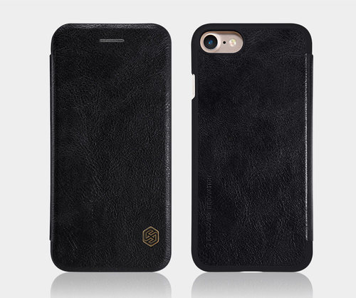 Nillkin QIN leather case for iPhone 7+/Black