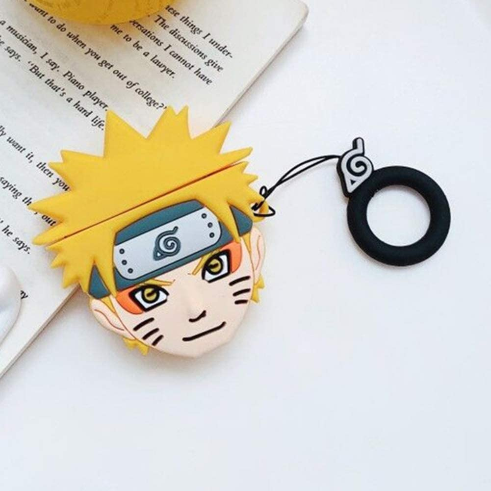 Naruto -Cute Cartoon Soft Silicone Doll Case For Apple AirPods