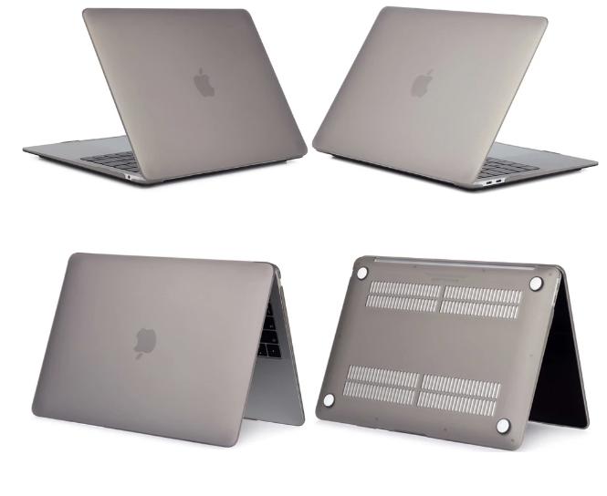 "MacBook Pro 13"" Touch Bar 2018-2020 protective case-Matt White"