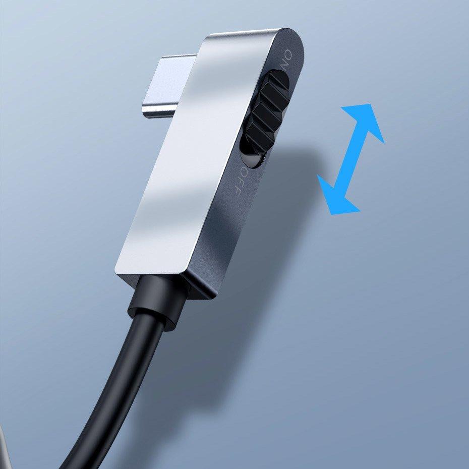 Baseus 6 Ports USB Type-C HUB for iPad Pro & MacBook Pro