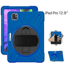 Dulero StandClutch Rugged Shockproof Case / iPad pro11 2018/2020-Blue