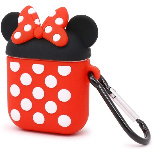 Minnie Mouse Doll- Cute Cartoon Soft Silicone Doll Case For AirPods