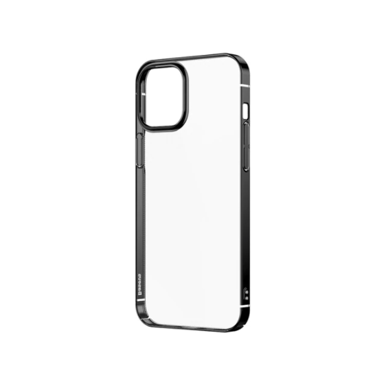 Baseus iPhone 12/12 Pro see-through Protective Case - Black