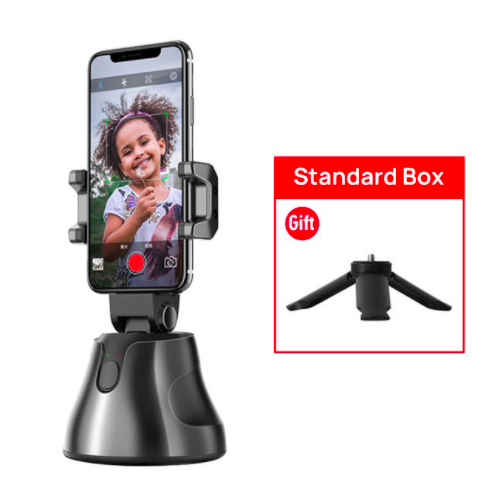 Apai SmarthPhone Auto Tracking Selfie Gimbal - Black