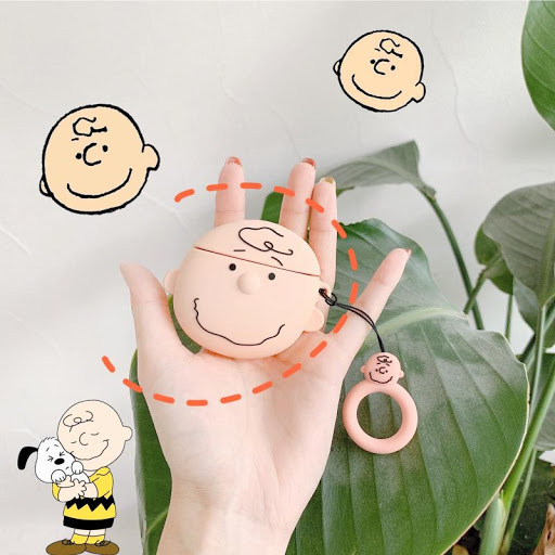 Charlie Brown-Snoopy Silicone Case for Airpods