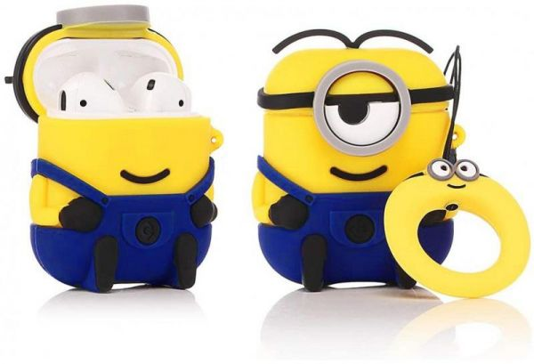 Stuart - Minions Cartoon Soft Silicone Case For Apple AirPods