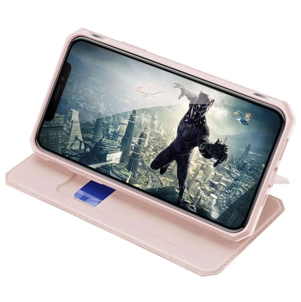 DUX Ducis Magnetic Flip Leather Case for iPhone 12 Pro Max - Blue